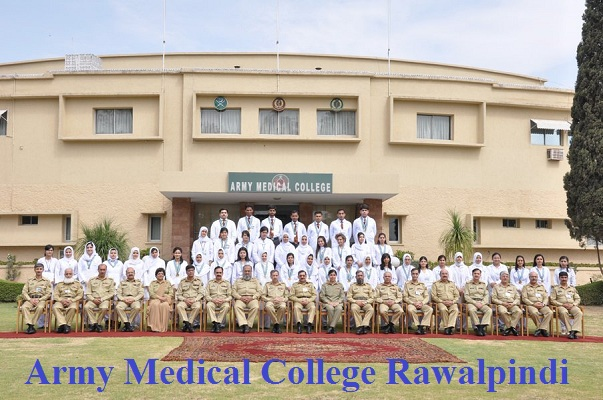 Army Medical College Rawalpindi AMC Merit List (2019-2020)