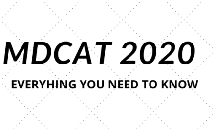MDCAT Entry Test 2020 (Everything You Need to Know)