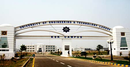 Undergraduate and Post Graduate Programs Offered by UET Lahore