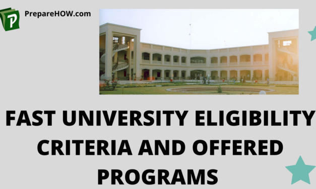 Fast University Eligibility Criteria and Offered Programs
