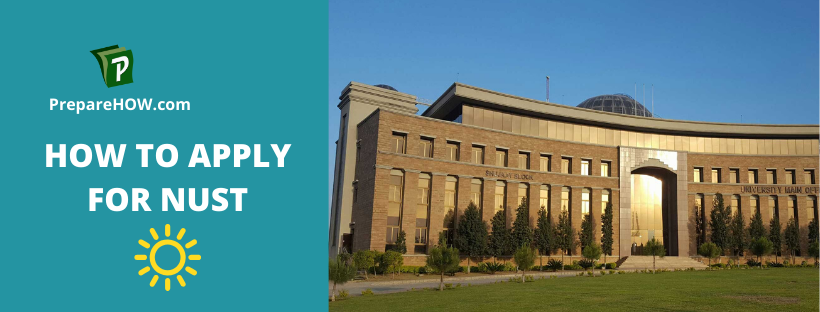 How To Apply For NUST on the basis of NET & SAT