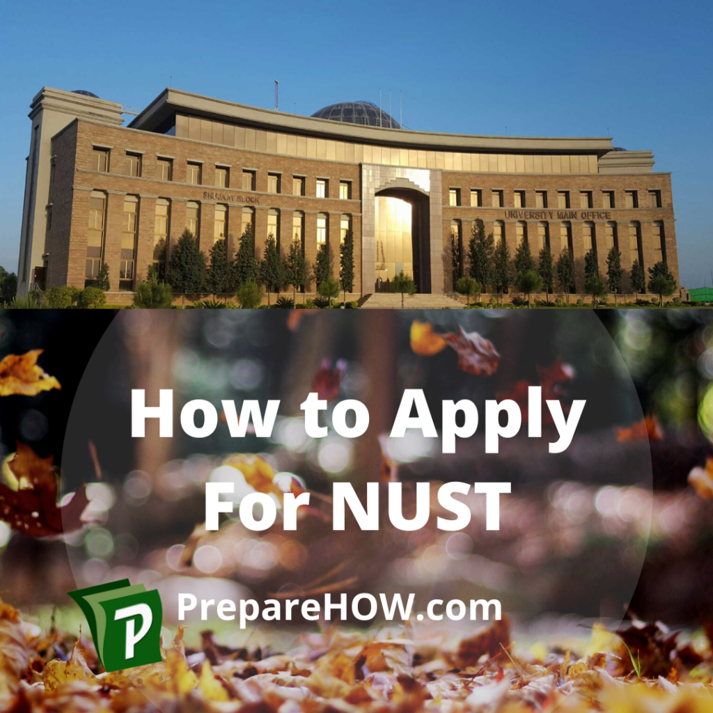 how to apply for nust