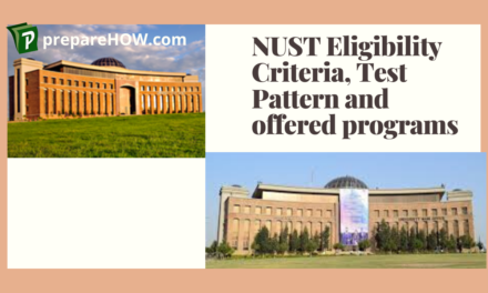 NUST University Eligibility Criteria ,Test Pattern and Offered Programs