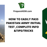 How to Easily Pass Pakistan Army Initial Test ,Complete Info & Tips/Tricks