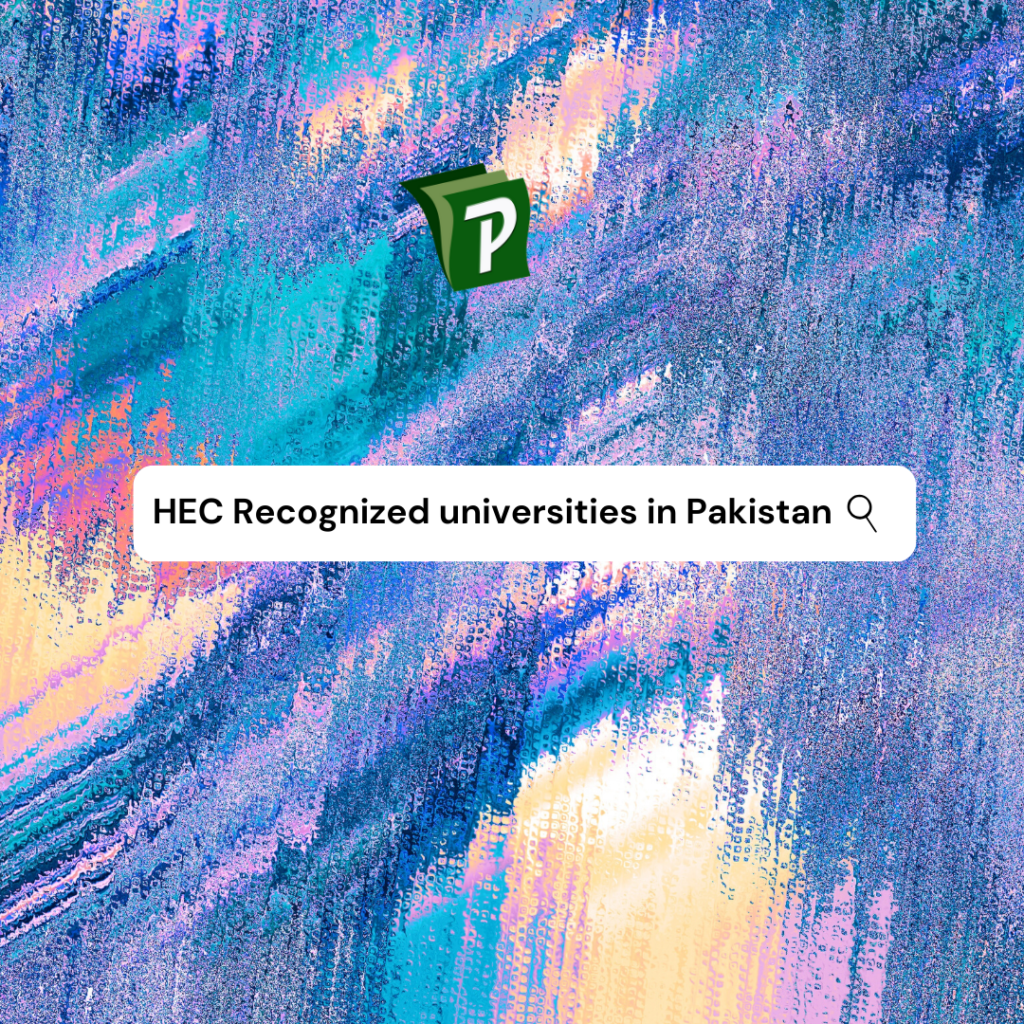 HEC Recognized Universities