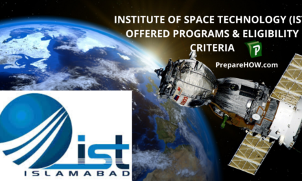 Institute of space technology (IST) Offered Programs & Eligibility Criteria