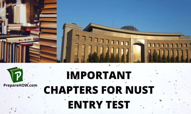 Important Chapters For NUST Entry Test