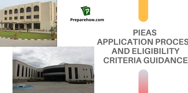 PIEAS Application process and eligibility criteria guidance