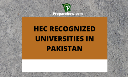 Hec Recognized Universities in Pakistan