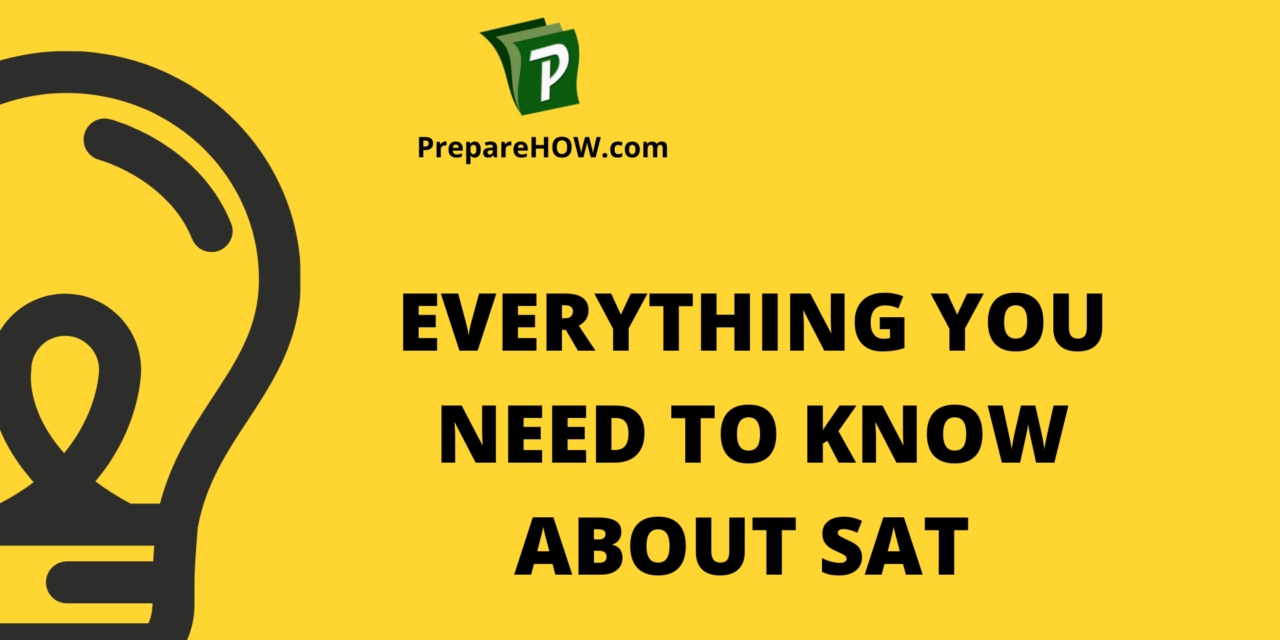 Everything you need to know about SAT Exams