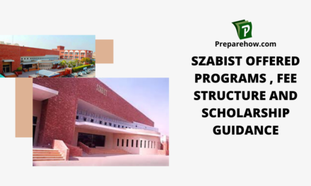 SZABIST Offered Programs, Fee Structure and Scholarship Guidance