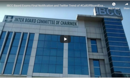 IBCC Notification about exams and impact of #CallOffBoardExams Twitter Trend