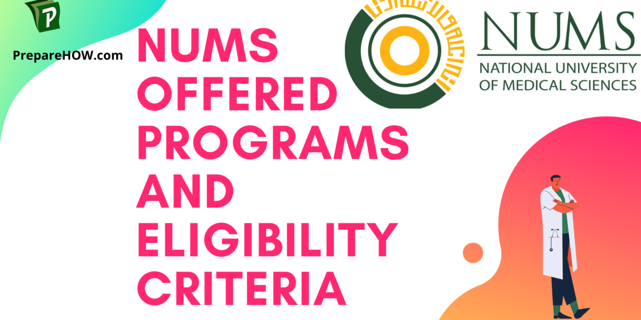 Nums Offered Programs and Eligibility Criteria