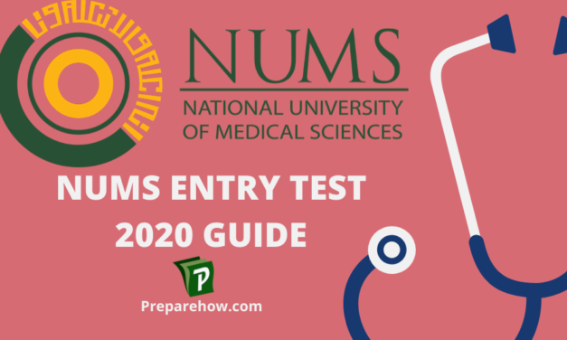 Nums Entry Test 2020 Guide