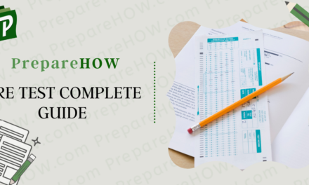 gre test complete guide