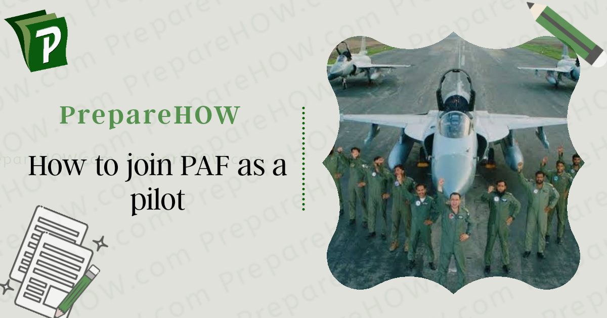 How to join PAF as pilot