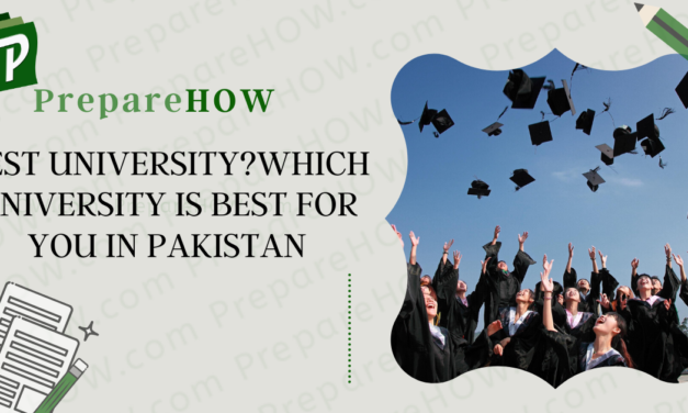 Best University? Which University is Best for you in Pakistan