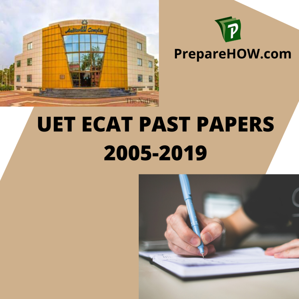 ECAT Past papers