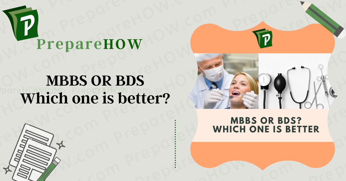 MBBS or BDS? Which medical career should I choose in 2021 and why?