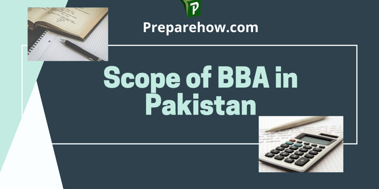Scope Of BBA in Pakistan