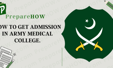 How to get admission in Army medical College.