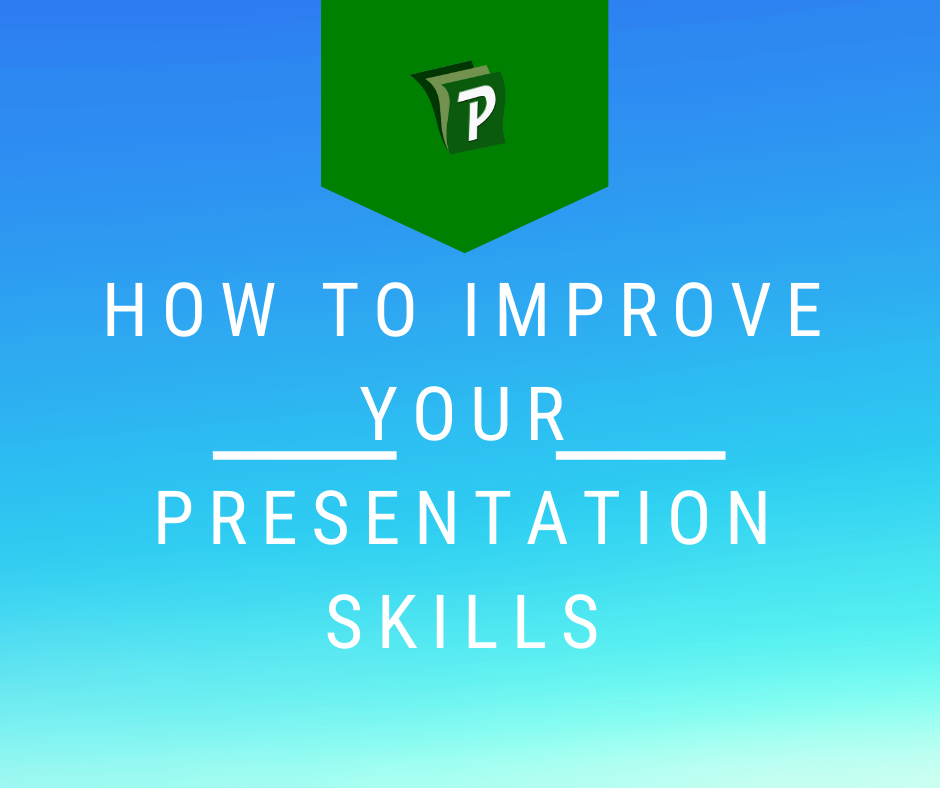 Improve your presentation skills