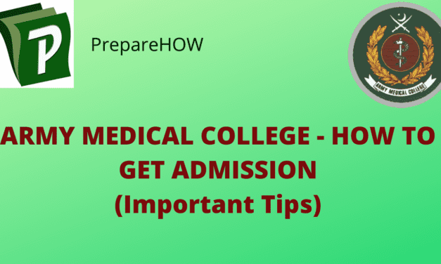 Army Medical College – How To Get Admission (Important Tips) 2020