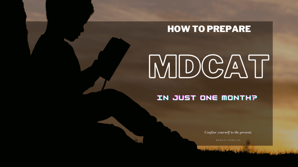 How to prepare | How to prepare mdcat in just 1 month? | PrepareHOW